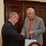 Встреча Пана Сергюша Коломойца с проректором Лодзьского Государственного университета
