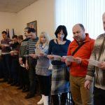 Ламане оплаткем в Доме Польском Днепропетровской областной Польской общине