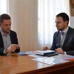 Рабочая встреча профессора Пана Рафала Лизута (Rafała Lizuta) с руководством Департамента образования Днепропетровской области