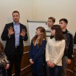 Встреча профессора Пана Рафала Лизута (Rafała Lizuta) с выпускниками школ Днепродзержинска